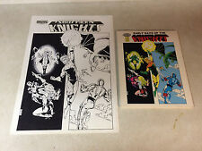 SOUTHERN KNIGHTS EARLY DAYS #2 original COVER ART, 1987 DRAGON ARAMIS !!