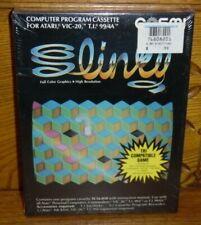 Sealed Cosmi Atari 400/800/1200XL Commodore VIC-20 Computer Game SLINKY