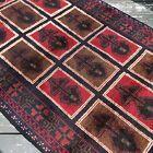 Handmade Afghan Kazakh Brand New Tribal & Geometric Accent Rug, Camel Hair, 4x7