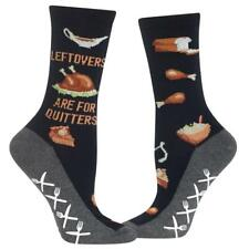 Leftovers Are 4 Quitters Hot Sox Non-Skid Slipper Socks New Women's 9-11 Fashion