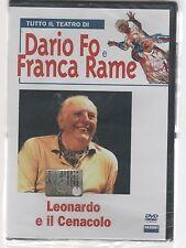 DARIO FO FRANCA RAME LEONARDO E IL CENACOLO DVD + LIBRO FABBRI ED.SIGILLATO!!!
