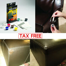 Leather Repair Kit Filler Compound Color Restorer Car Couches Seat Chairs Jacket
