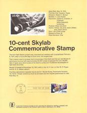 #7409 10c Skylab Stamp #1529 Souvenir Page