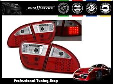FEUX ARRIERE ENSEMBLE LDSE03 SEAT LEON 1999 2000 2001 2002 2003 2004 RED LED