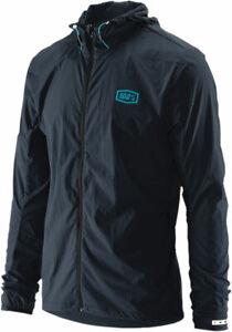 100% MX Motocross AERO TECH Windbreaker Jacket (Charcoal Grey) Choose Size