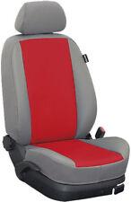 Skoda Octavia Typ 1Z Maß Sitzbezüge Vordersitzbezüge: Kunstleder/rot/grau