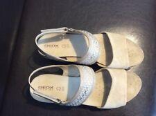 Geox Respira Echtleder Damen Sandale Pumps Keil Plateau Ballerina High Heels 40