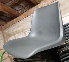 1 neue Sitzschale für Helmut Starke Designer Stuhl EUROPA - dunkel grau