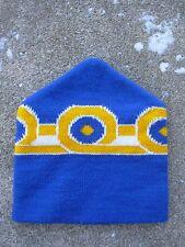 Vintage Knit Ski Hat 1970's 1980's