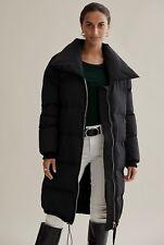 Country Road Longline Puffer Coat [8] Black NWT RRP$349