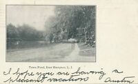 EAST HAMPTON NY - Town Pond Private Mailing Card - Long Island