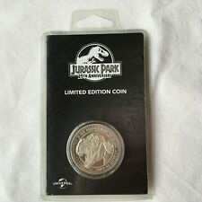 """Jurassic Park Coin 25th Anniversary Limited Edition """"NEW"""" SEALED NUMBERED"""
