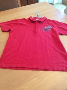 boys clothes 11-12 years Red Cotton Spider-Man Short Sleeved Polo Shirt Top