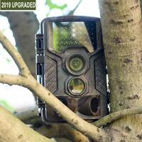 1080P Caméra de Chasse Cachée Nocturne infrarouge 42LEDs lumières HD Nuit Vision