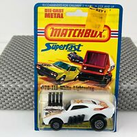 RARE Vintage Matchbox Superfast # 78-III White Lightening  Card/Blister Pack