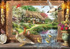 WENTWORTH 500 Piece WOODEN JIGSAW Puzzle STILL TO LIFE Birds Adult Challenge