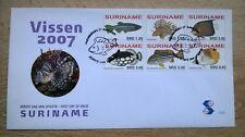 Suriname Republiek 2007 FDC E305 Vissen
