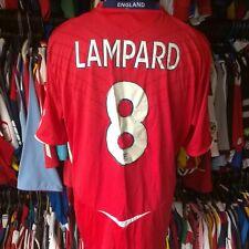 ENGLAND 2008 AWAY FOOTBALL SHIRT #8 LAMPARD UMBRO JERSEY SIZE ADULT 2XL