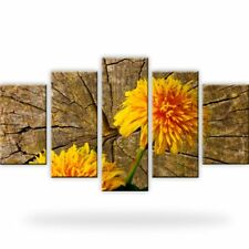 Rose Blume Leinwandbilder Digitalart Fünfteilige Dekoration Bilder