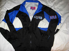 ORLANDO MAGIC VTG MULTI EMBROIDERED LOGO DANIEL YOUNG NBA JERSEY JACKET-MINT-M