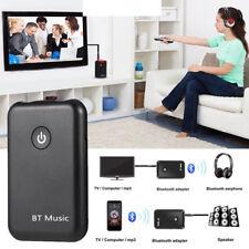 Wireless BT Transmitter Stereo Audio Music Adapter for TV Phone PC Speaker Hot