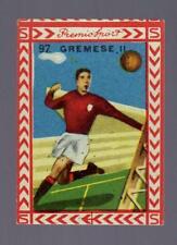 B.E.A. BEA ALBO PREMIO GOOL SPORT 1949 1950 49 50 FIGURINA N. 92 GREMESE II