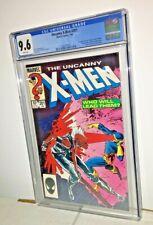 Uncanny X-Men #201, CGC 9.6, White Pages