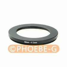 58mm-41.5mm 58-41.5 mm 58 to 41.5 Step Down Filter Ring Adapter