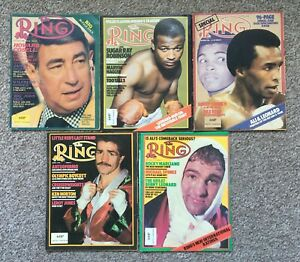 Boxing - 'The Ring' Magazine - 9 Issues - 1980