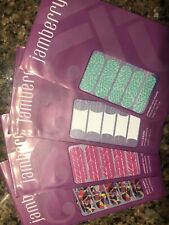 Jamberry Nail Wraps - Lot #18 - Lotus, White Tip, Spearhead, Crash Art