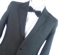Hepworths Mens Black Dinner Suit Jacket 36 Chest (Regular)