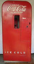 Vtg Vendo 39 Coca Cola Coke Soda Bottle Vending Machine For Parts Restoration A