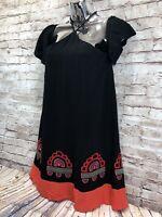 RE Named embroidered hem sun dress womens sz s nwt