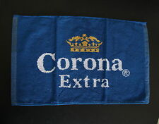 CORONA EXTRA Mexican Beer Bar / Pub Blue-White-Yellow Cotton Small Towel