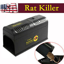 New Electronic Mouse Rat Rodent Killer Electric Trap Zapper Pest Control Us #