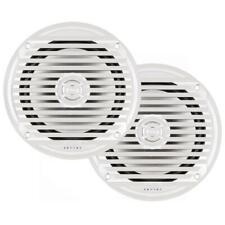 """JENSEN® 6.5"""" Coaxial Marine Audio Waterproof Speakers - (Pair)  White"""