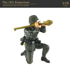 ✙ 1:18 Scale Dragon Models Action 18 Series WWII German Army Panzerfäust Soldier