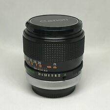 Obiettivo Canon FD 100mm f/2.8 S.S.C.