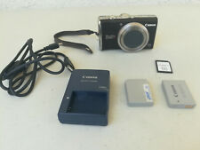 STILL WORKS USED Canon PowerShot PowerShot SX200 IS 12.1MP Digital Camera Black