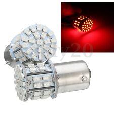2X 1156 P21W 382 BA15S R5W 50 SMD LED FRENO STOP CANBUS LAMPADINA BULB ROSSO 12V