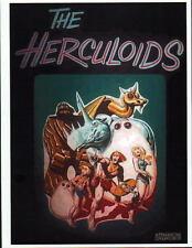 The HERCULOIDS Saturday Morning PROMO PRINT Hanna Barbera Igoo Zandor Gloop Zok
