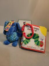 Eric Carle The Very Hungry Let's Count Clip-On activity book small  elephant