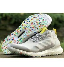 NEW Adidas Ultra Boost Mid Running Shoes G26842 Grey White Men's Size 9