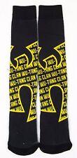 WU TANG CLAN Socks Repeat Design Logo Adult Sock Size 10-13 Shoe Size 6-12 New