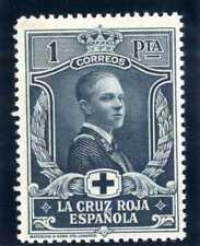 Sellos 1926 Pro Cruz Roja Española nº 335 1 peseta pizarra nuevo ref.1 stamps