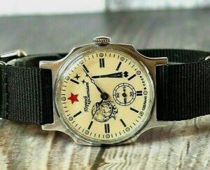 Pobeda Gagarin Soviet vintage mechanical wrist watch mens First astronaut USSR
