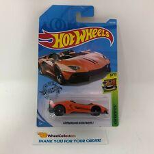 Lamborghini Aventador J #223 * Orange * 2019 Hot Wheels Case M