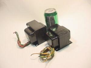 BELL CARILLON PA 75A TRANSFORMER SET DIY 75Watts EL34  6CA7 tube amp project