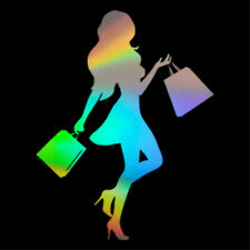Moda Chica Sexy Pegatinas de Pared Arte Vinilo Calcomanía Decoración para Ventanas Hogar armario tienda