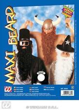 Large White Beard With Moustache - Viking Wizard Santa Fancy Dress